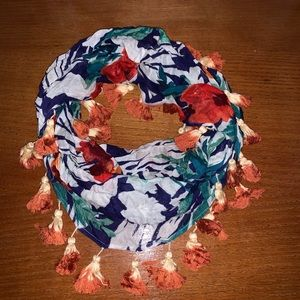 Tommy Bahama tropical floral infinity scarf
